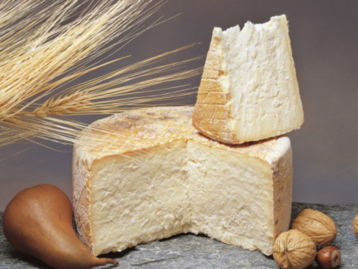Cotherstone Cheese, similar in texture to Swaledale Cheese and the more famous Wensleydale Cheese