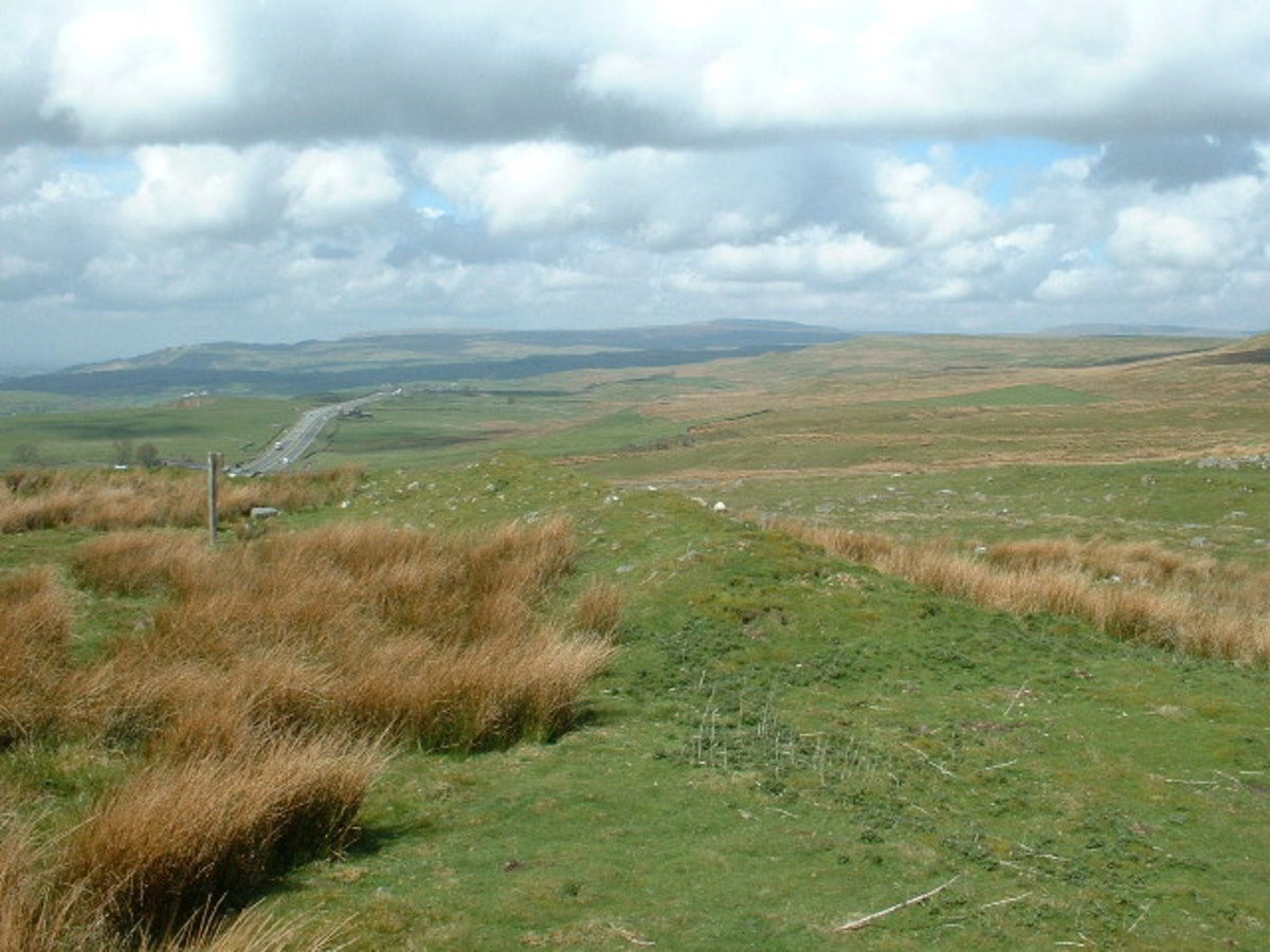 Site of another Maiden Castle, this one in eastern Cumbria near Stainmore