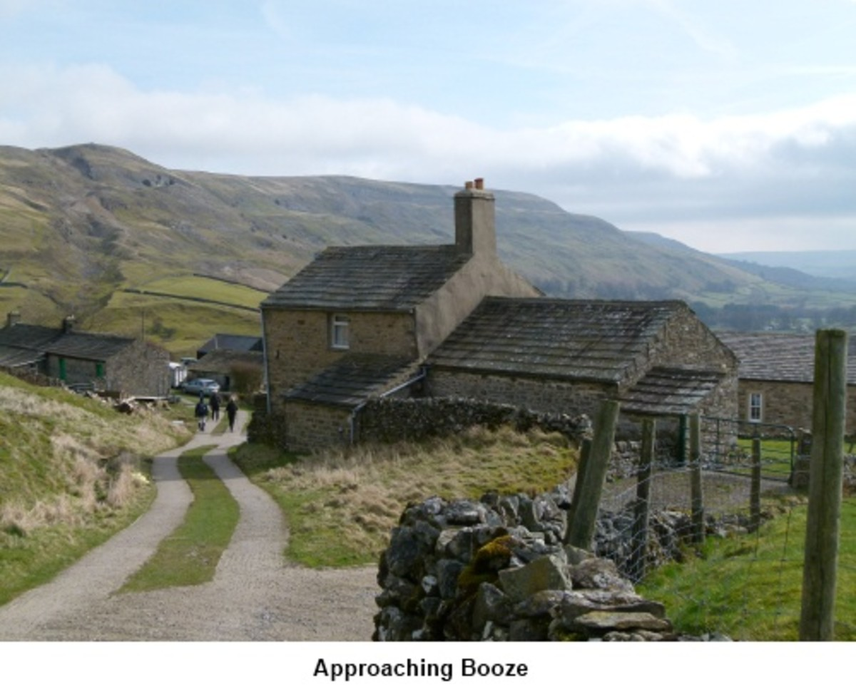 Would you be happy to live in a hamlet called Booze? This one's up in Arkengarthdale near where the road to Barnard Castle turns off from the Muker/Reeth road