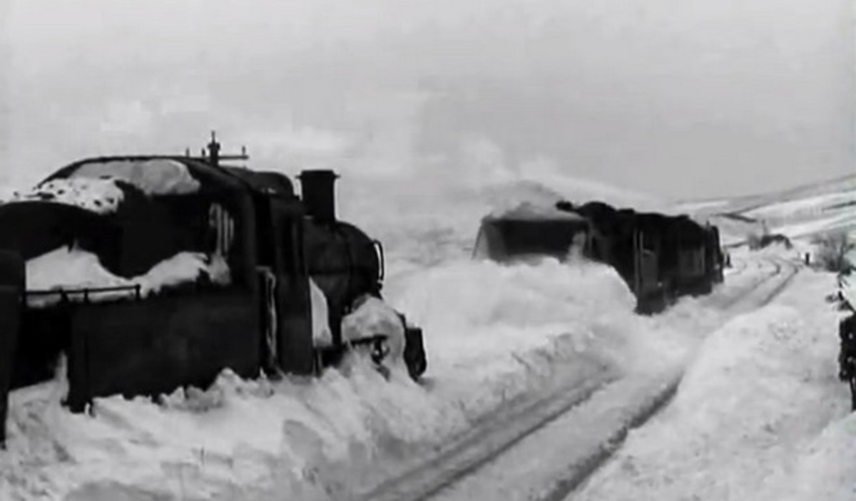 Snowdrift at Bleath Gill' was the title of a British Film Institute feature from early 1955 narrated by the comic actor Deryck Guyler. If you like watching snow ploughs in action this is for you!