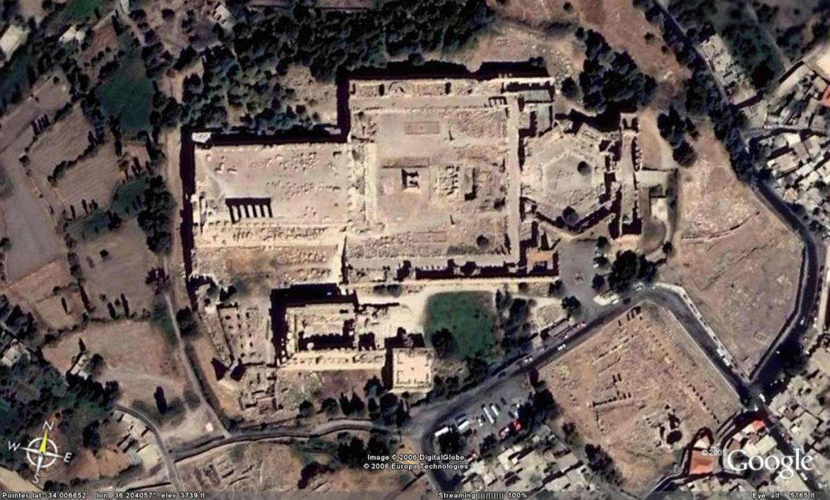 Temple complex at Baalbek
