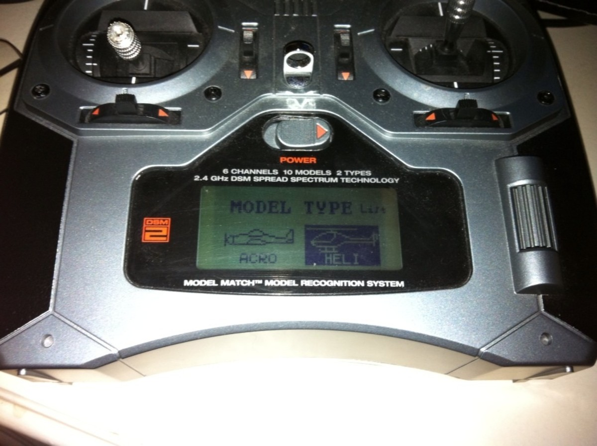 How to Properly Set Up the Spektrum DX6i Transmitter with