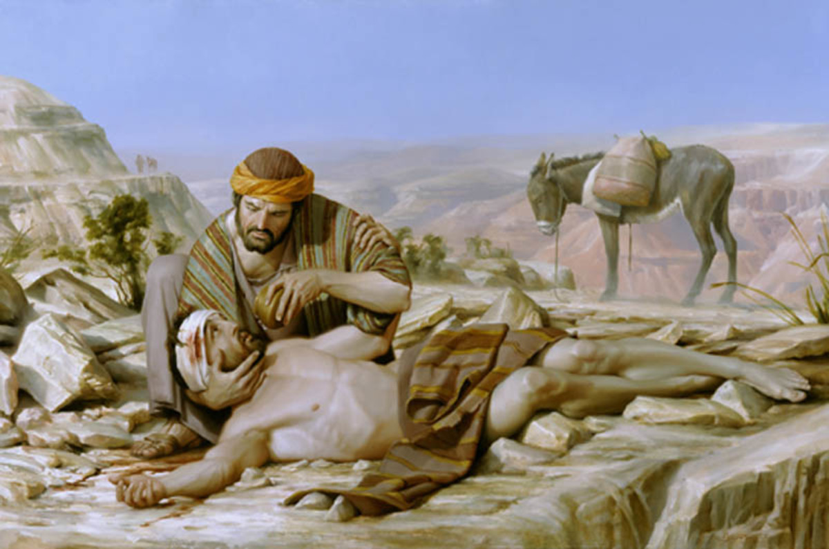 The man from Samaria proved to be the good neighbour, who helped without a second thought.......