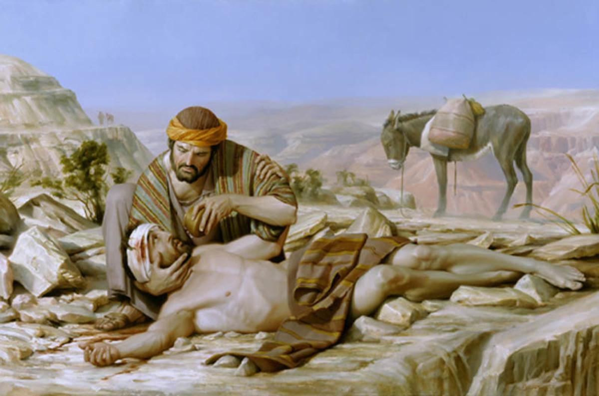 El hombre de Samaria resultó ser el buen vecino, que ayudó sin pensarlo dos veces .......
