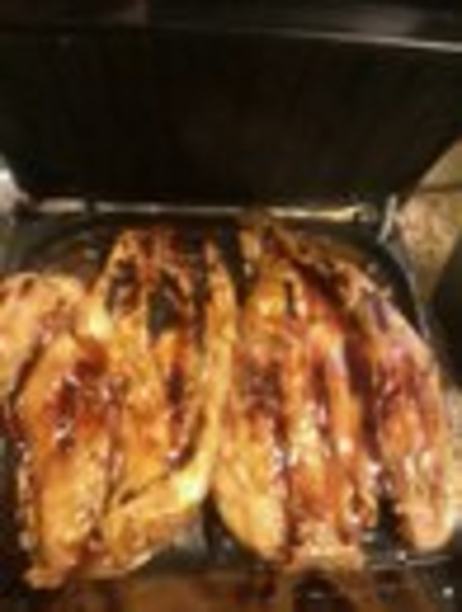 my GFG teriyaki chicken (sorry about the pic quality)