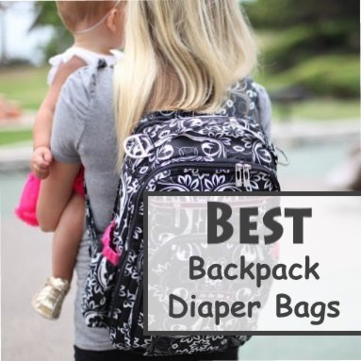Baby Backpack Diaper Bags for Moms and Dads