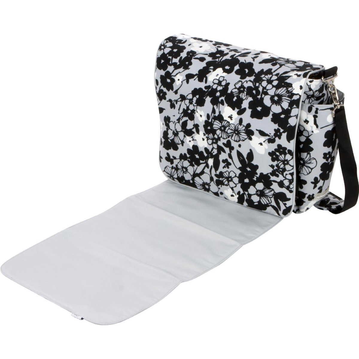 Bumble Bags diaper bag with changing pad.