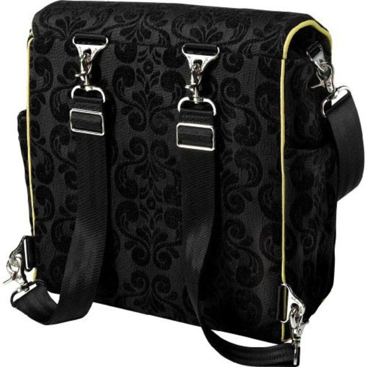 Petunia Pickle designer diaper backpack.