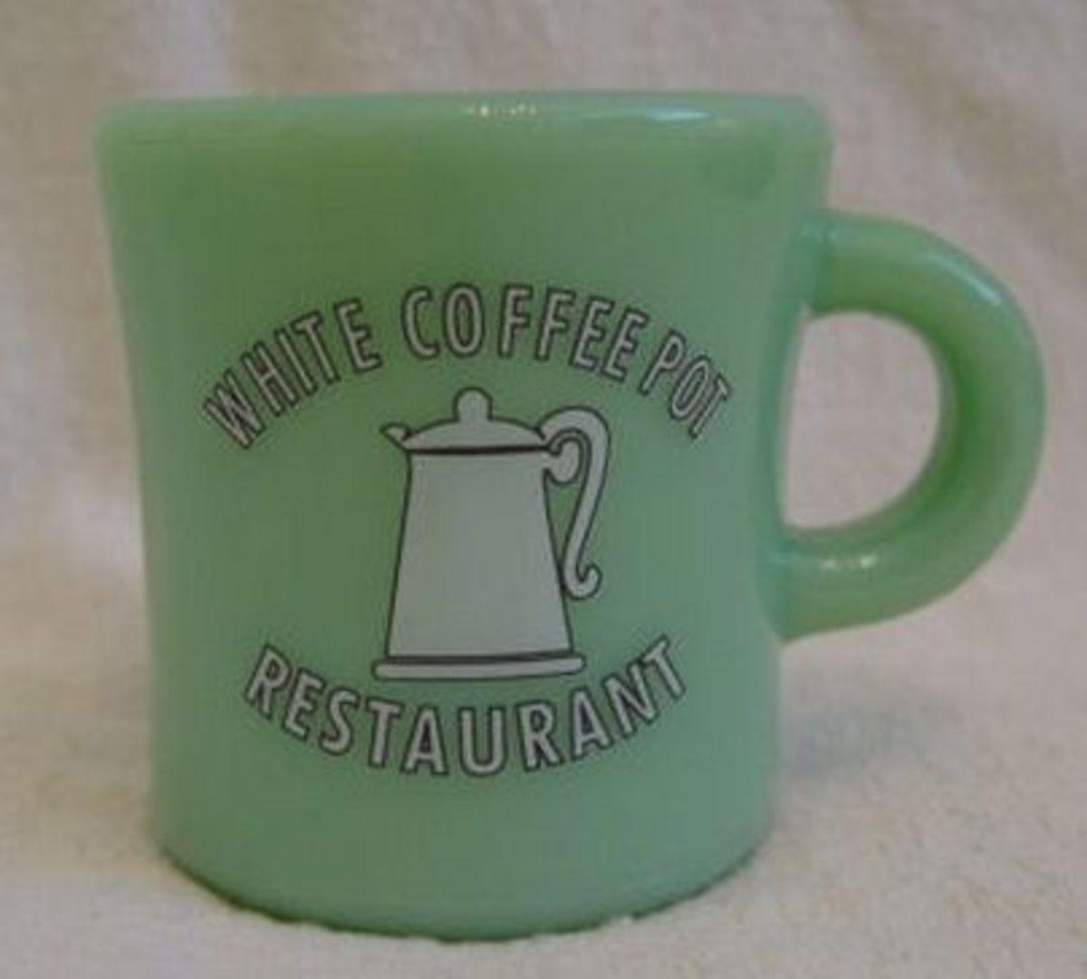 Jadite Coffee Mugs