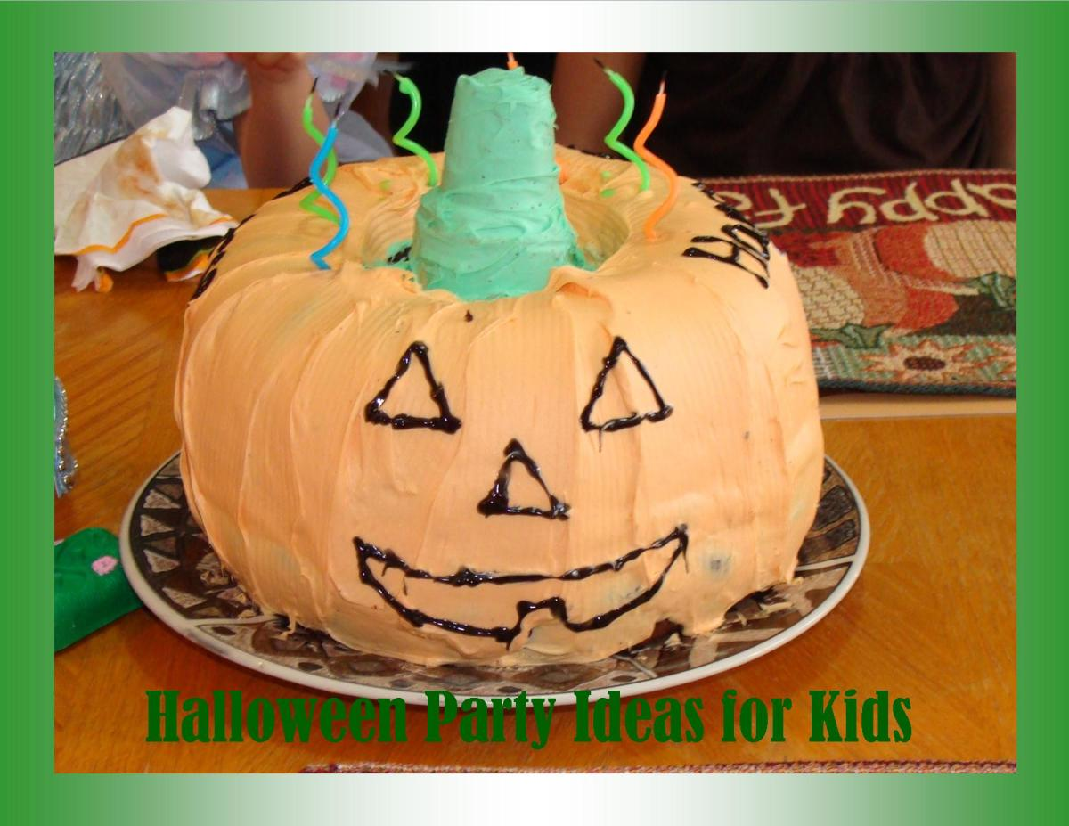 Great Jack o Lantern cake for Halloween or an October birthday!