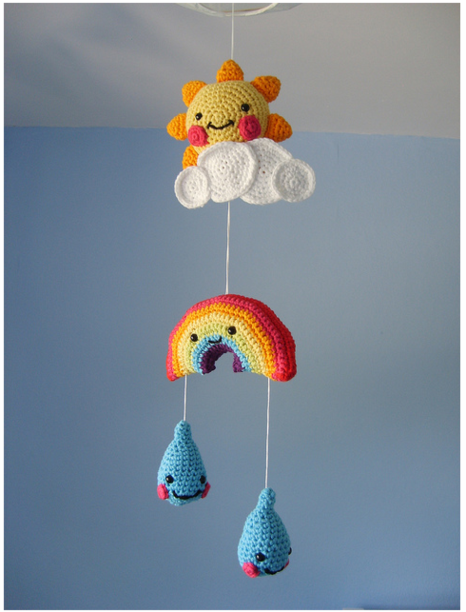 Diy Hanging Mobile Tutorials Creative Decorations