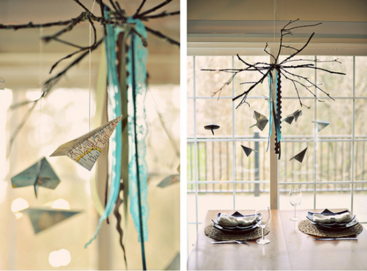 Diy Hanging Mobile Tutorials Creative Decorations