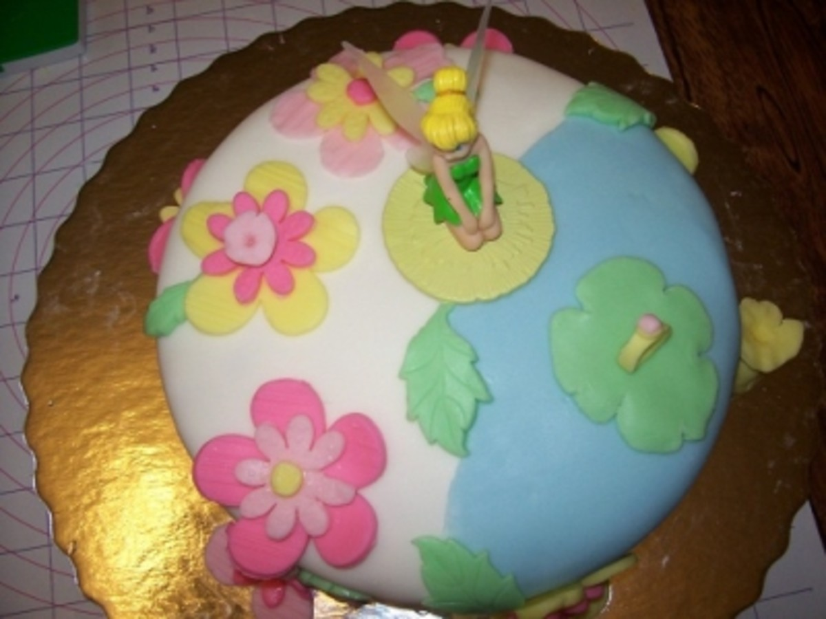 Completed Fondant Cake