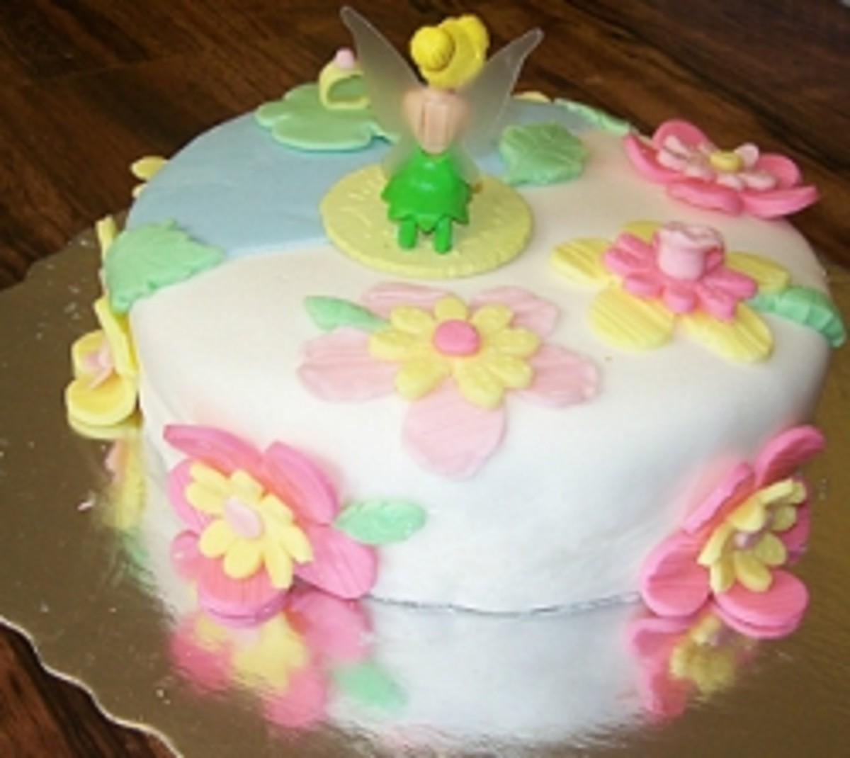 My First Fondant Cake: A Beginner's Experience