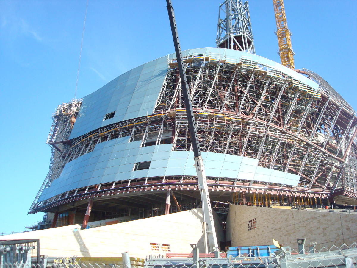 Human Rights Museum under construction