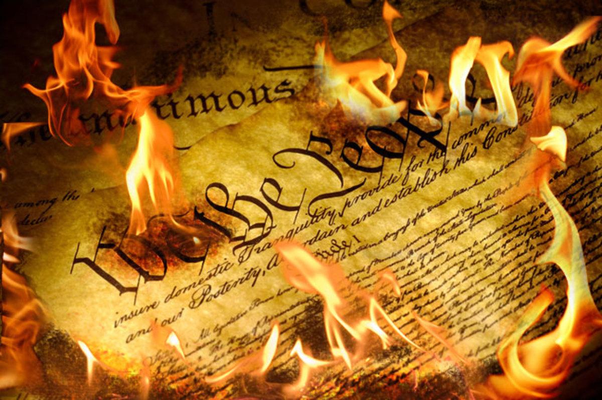 Burning The Constitution