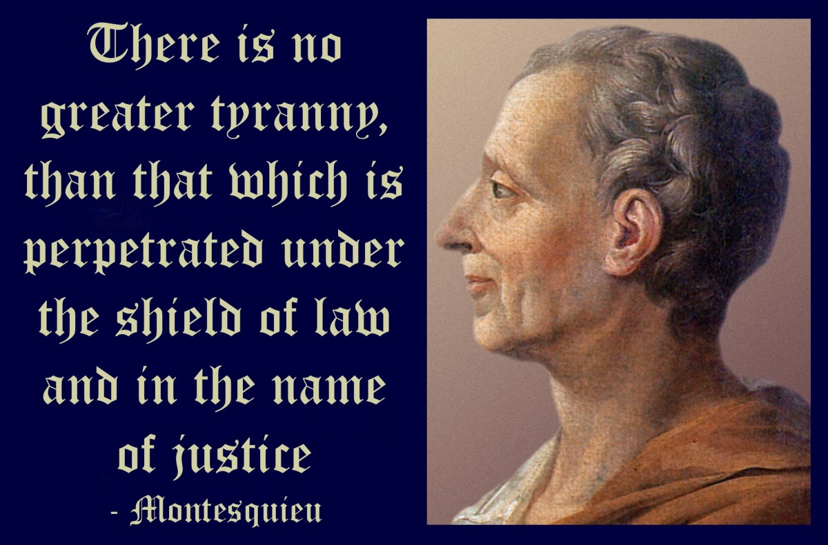 Tyranny in the Name of Justice!