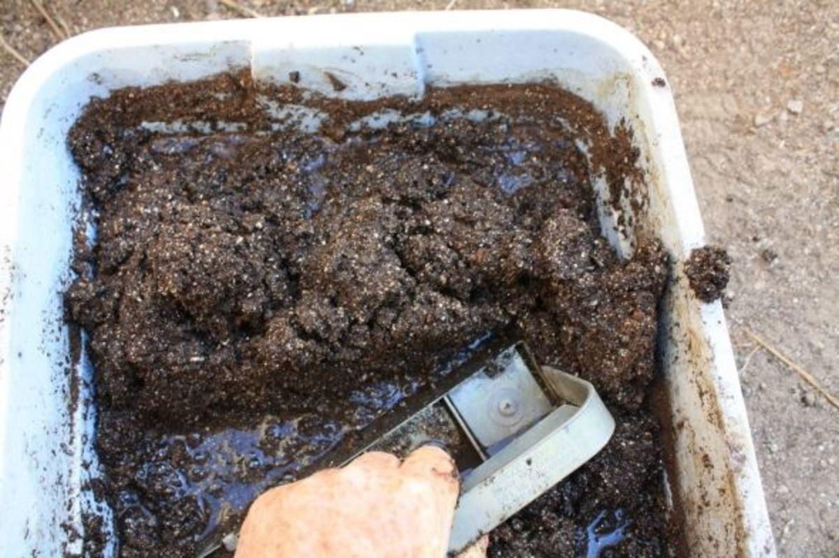 charging the soil block maker