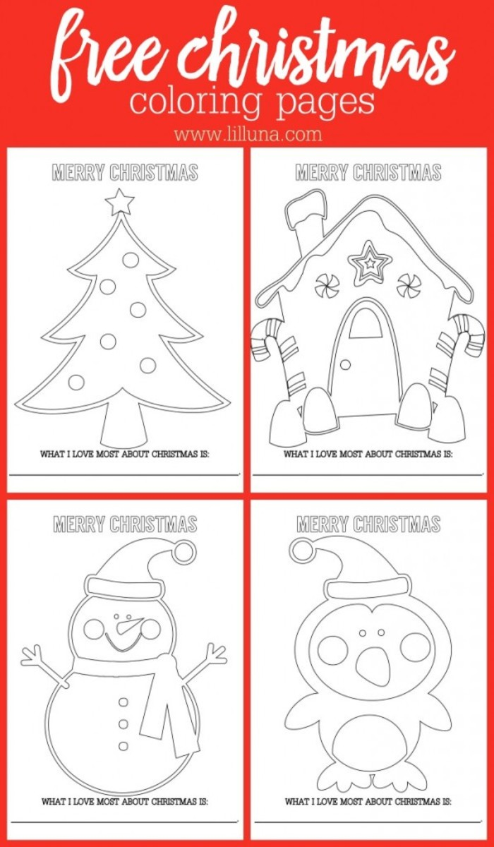 Print out some of these fun kids coloring pages - or print out all of them.  They are Free at Lil Luna!