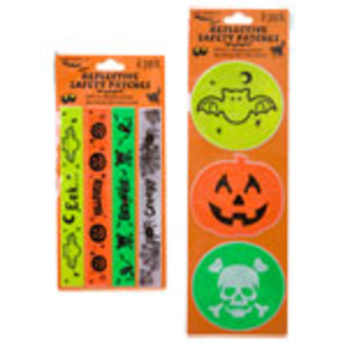 Reflective Halloween Safety Patches
