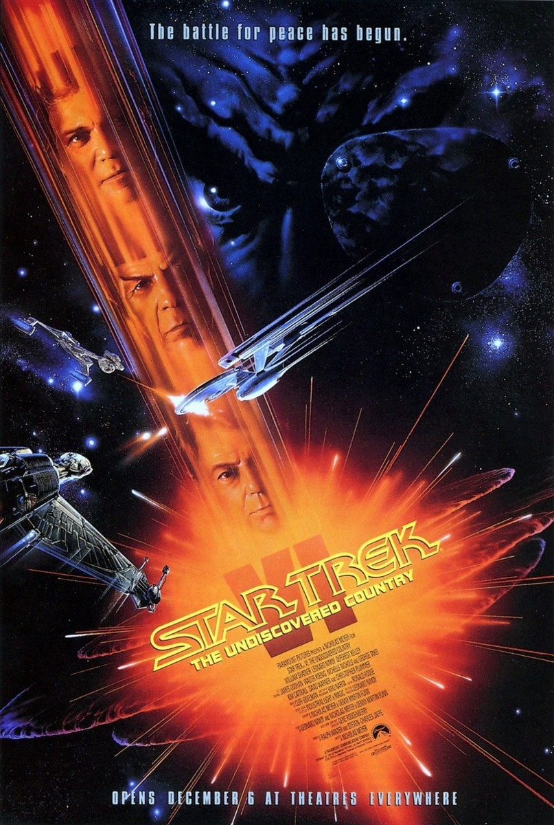 Star Trek VI The Undiscovered Country (1991) - Illustrated Reference