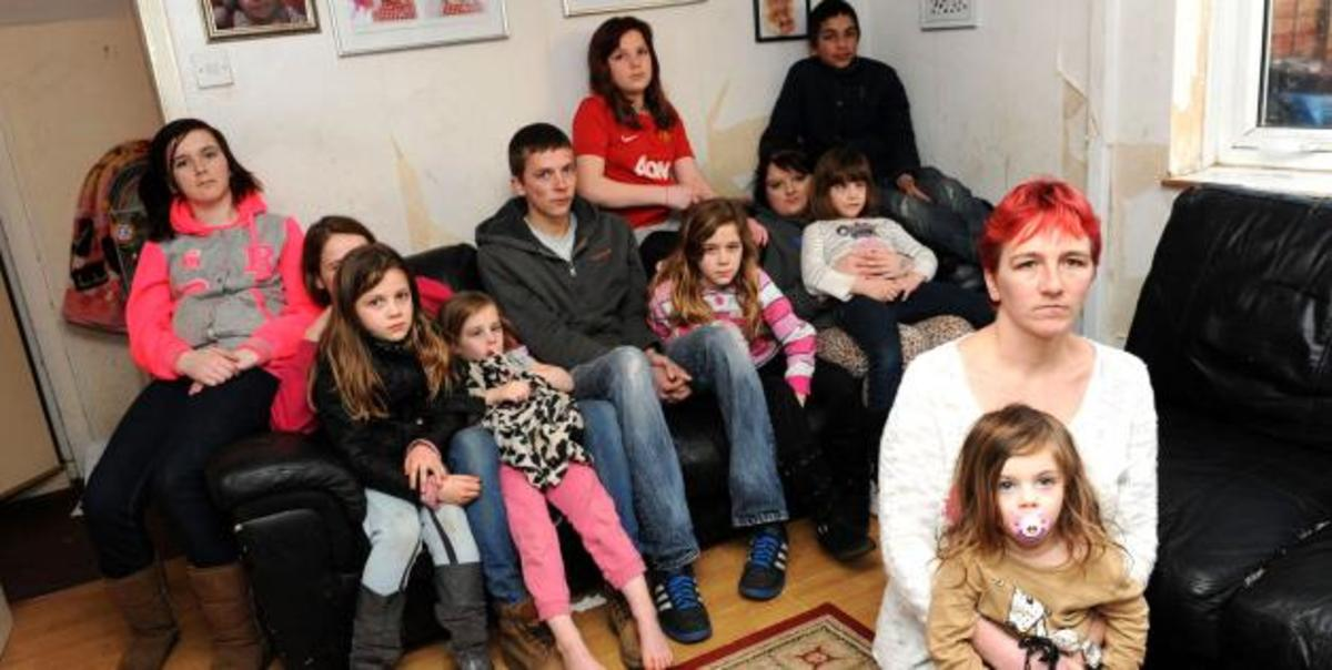 Large Families Equal Poverty