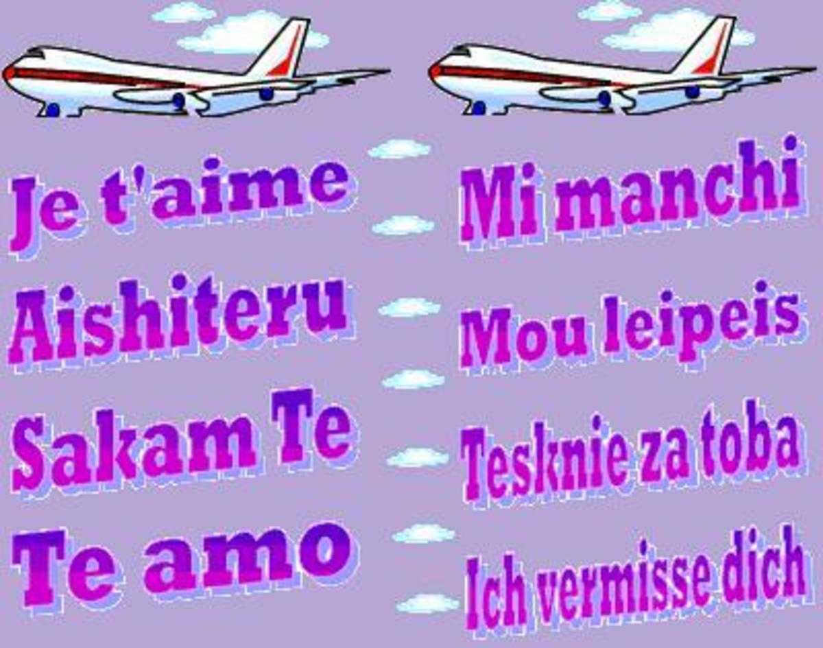 How to Say I Love You and I Miss You in Different Foreign Languages