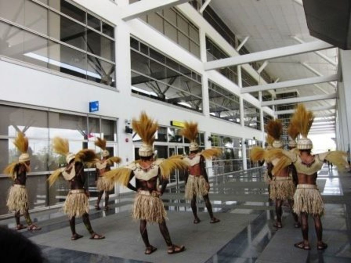 Dinagyang in Iloilo Airport