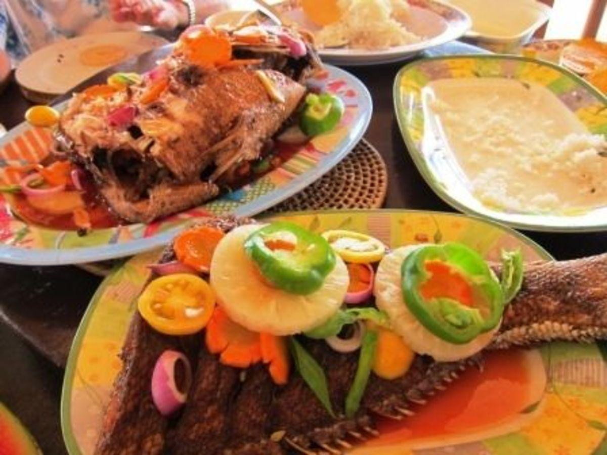 Fresh Iloilo Seafood in Concepcion