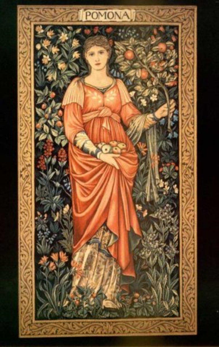 The Roman Goddess Pamona