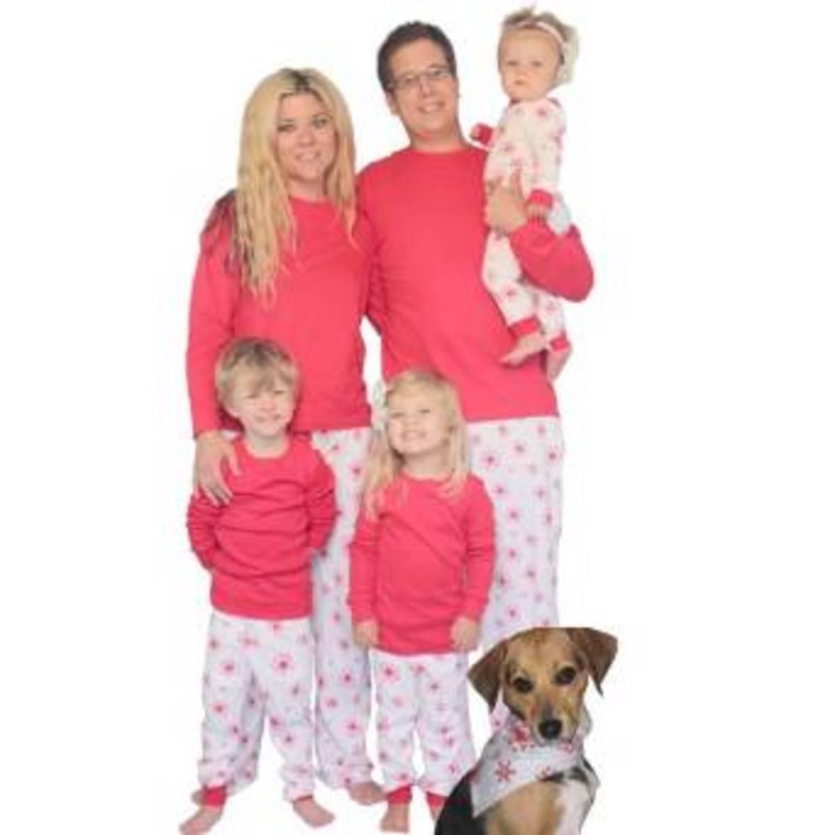 Snowflake Christmas Pajamas