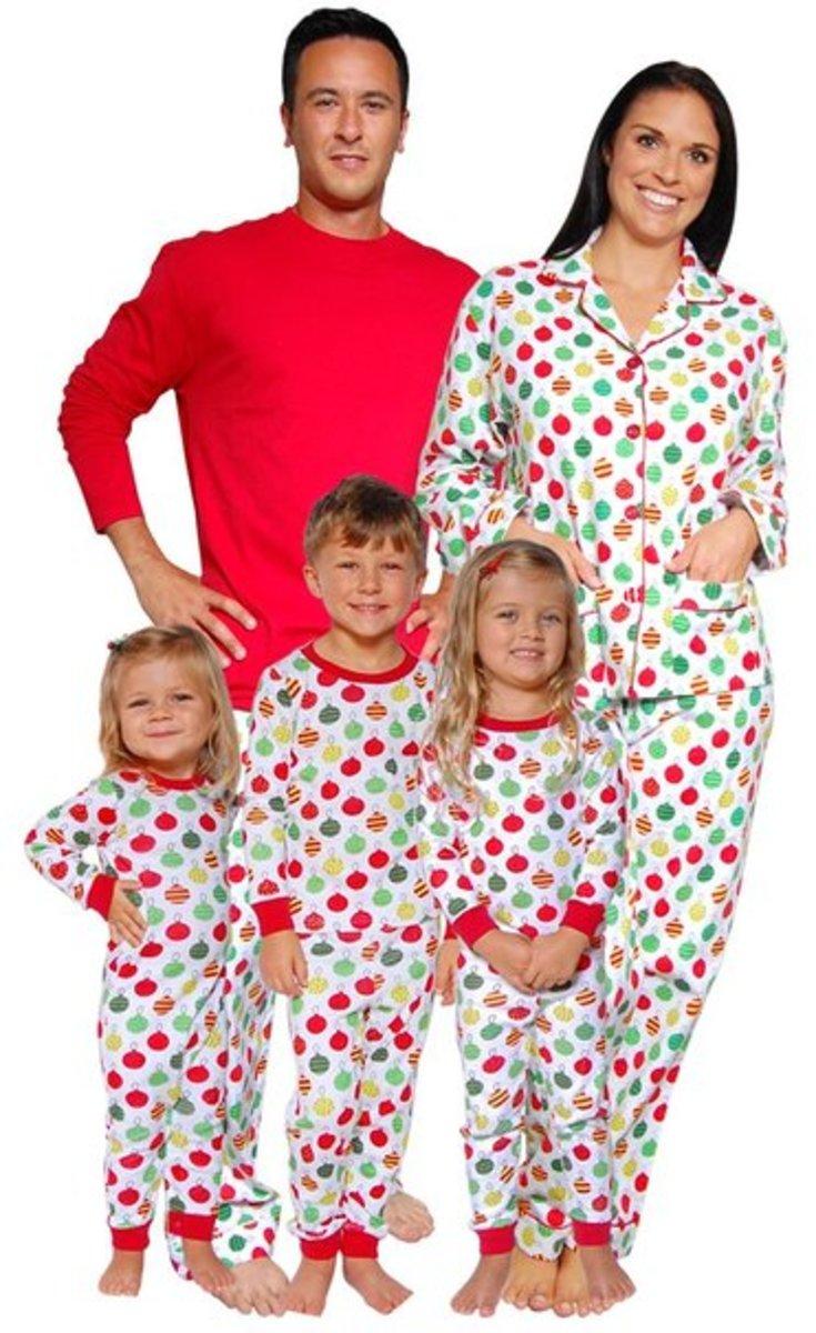 Ornament Family Xmas Pjs