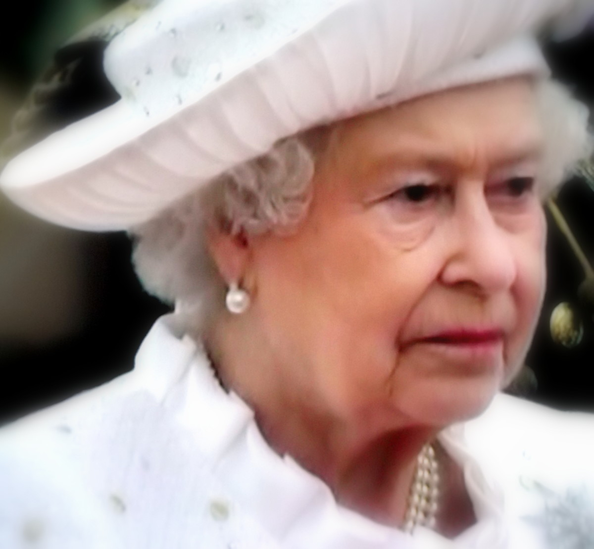 It's Her Majesty, The Queen. Someone had to put all this stuff on the net...Why is another question