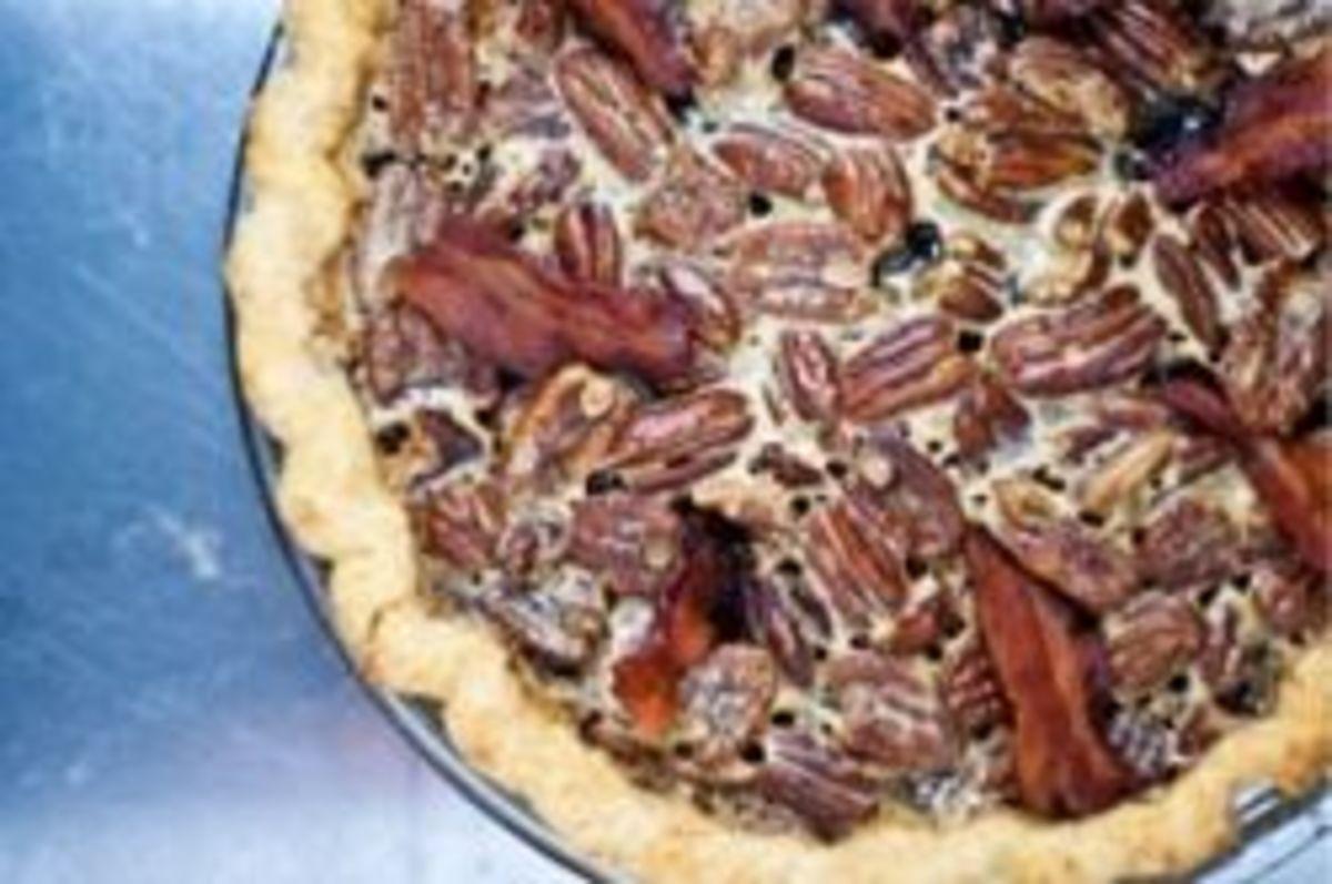 Bacon Bourbon Pecan Pie