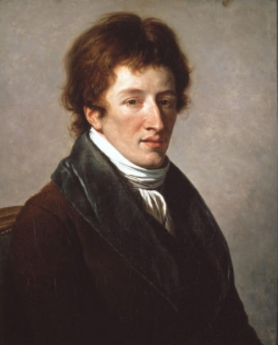 Baron Georges Cuvier by artist François-André Vincent (1746-1816).