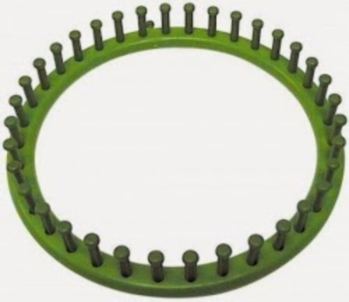 Knifty Knitter Green Round Loom