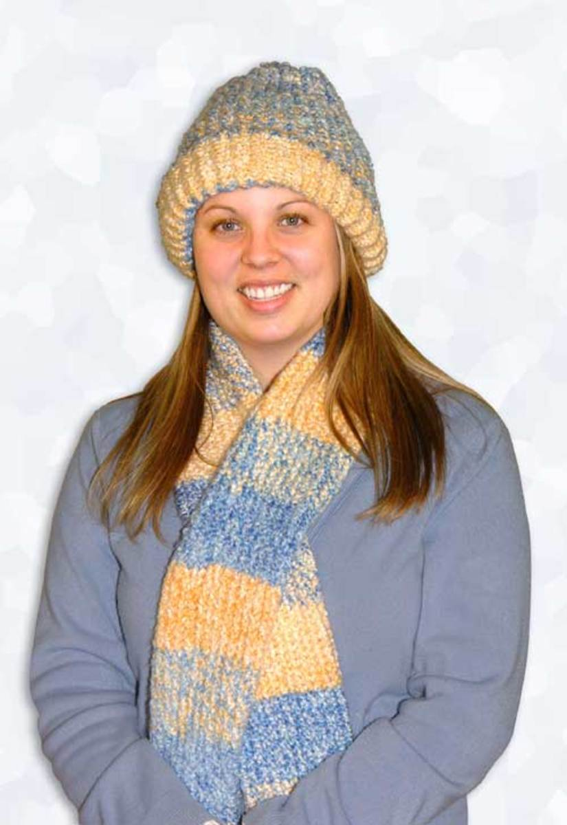 Matching Hat and Scarf