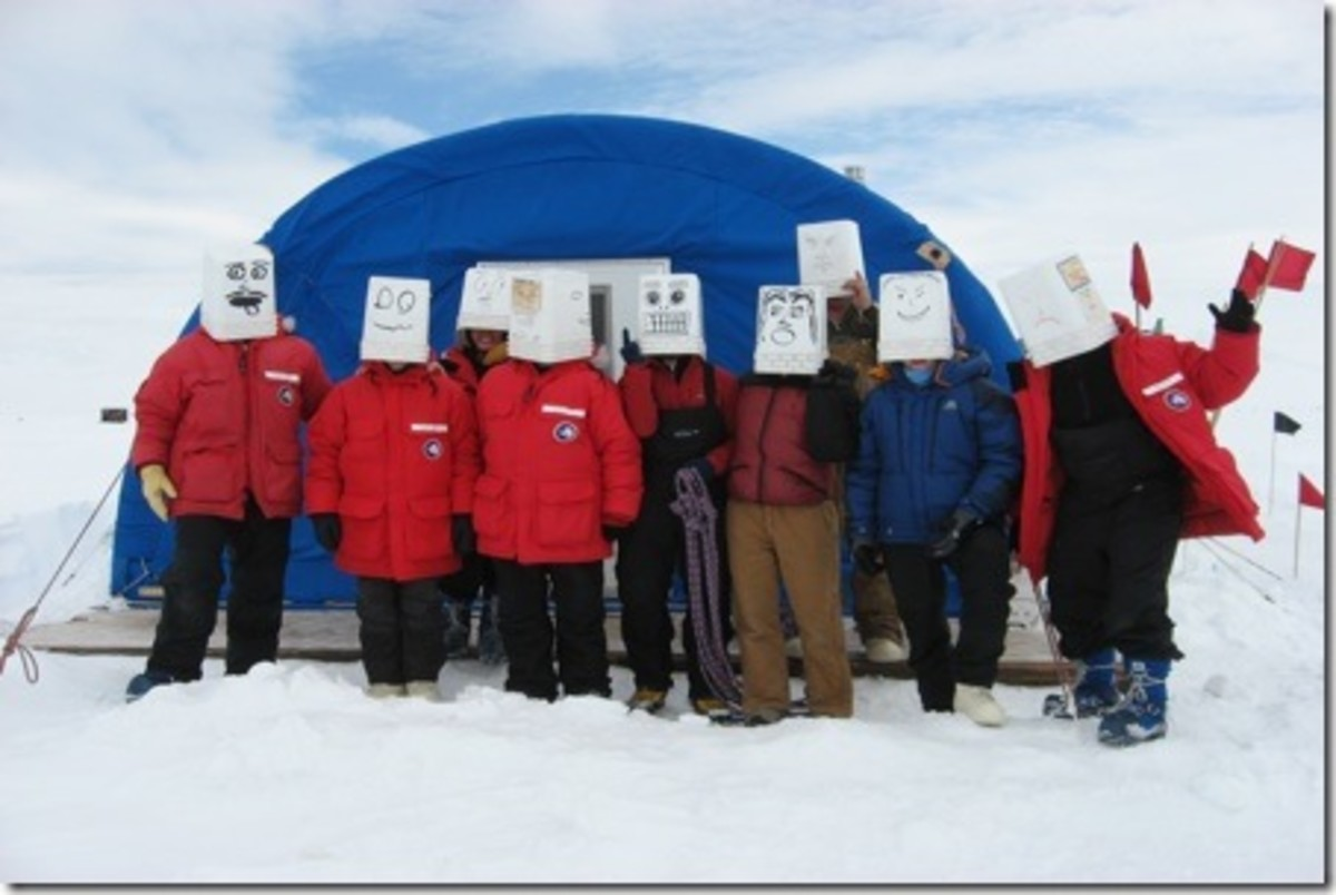 Happy Camper School, in preparation for Antarctica