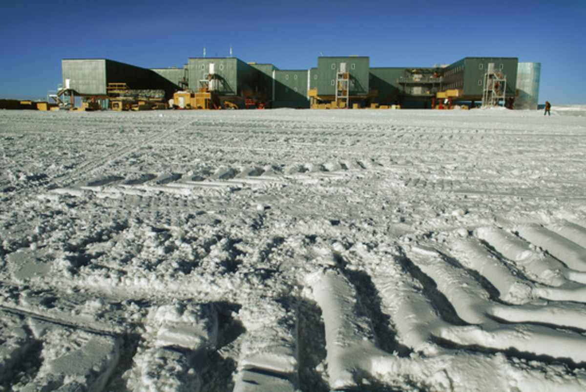 The Third South Pole Station, New Buildings, Antarctica