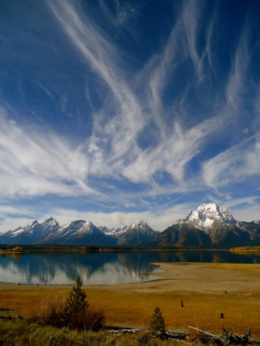 Grand Teton National Park, taken while hiking Hermitage Point last Wednesday. by Sarah Kellogg