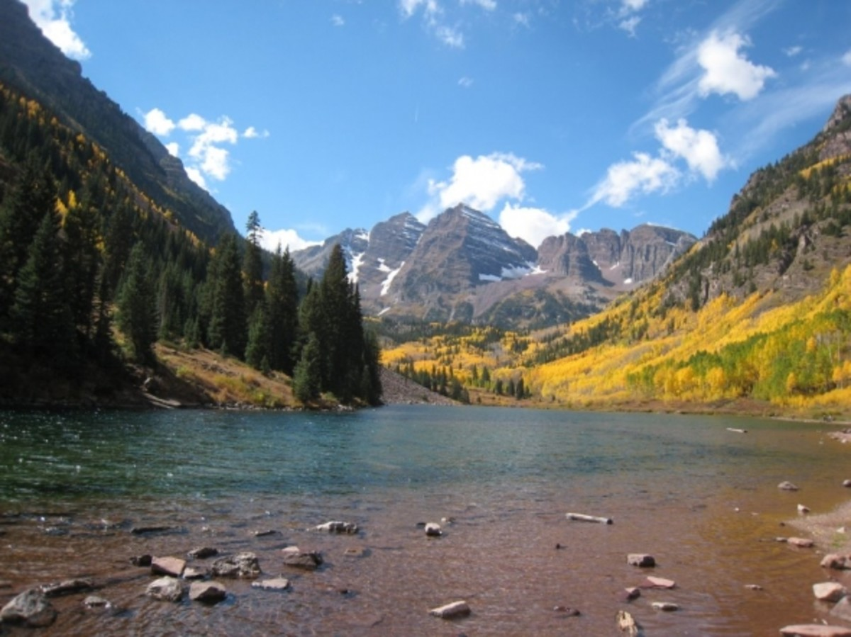 Maroon Bells Aspen, CO  Absolutely Breathtaking