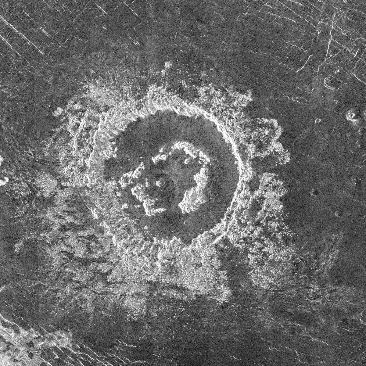 The Barton Crater on Venus