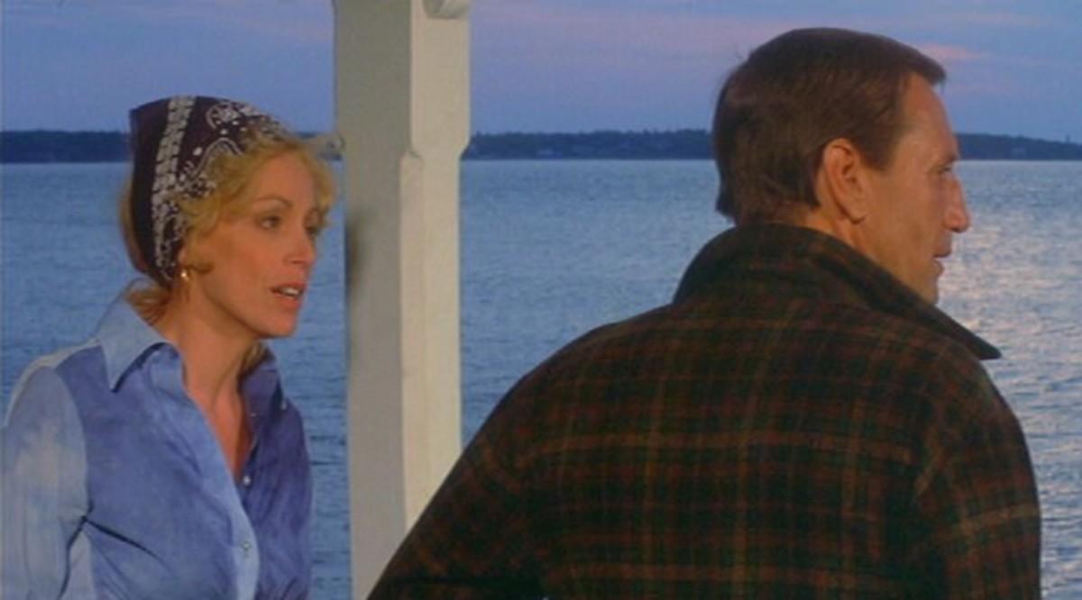 Lorraine Gary with Roy Scheider