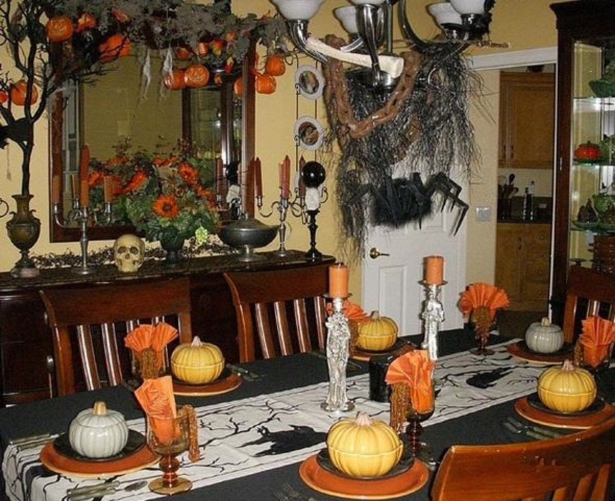 Halloween Dinner Party Plans