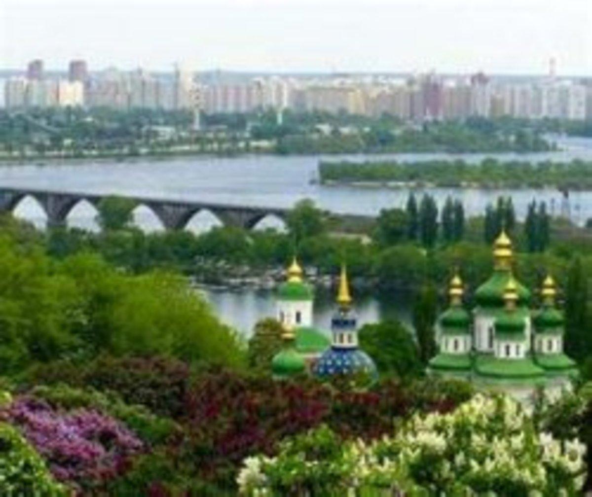 Kiev, the capital of Ukraine