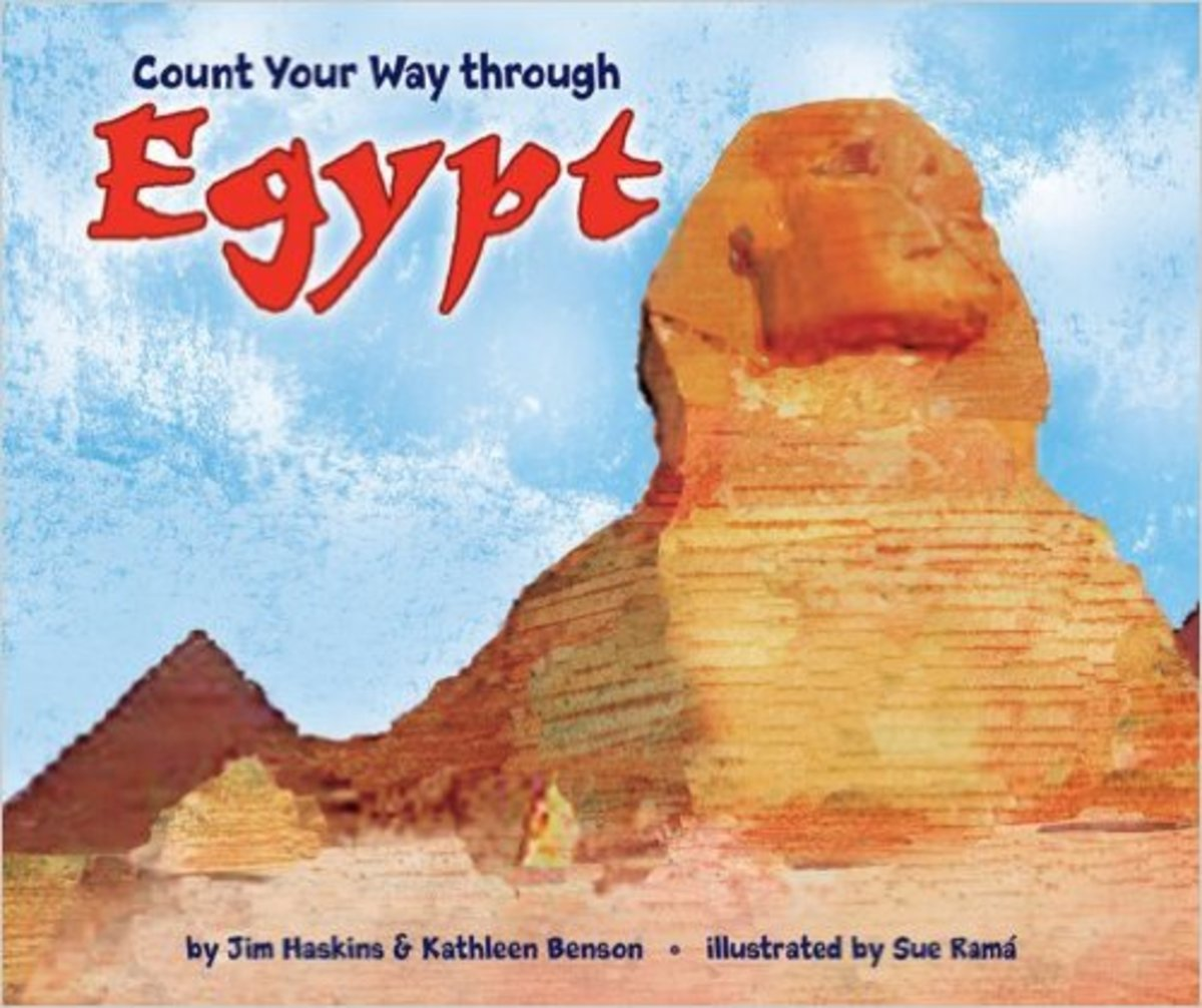 Count Your Way Through Egypt by Jim Haskins - Book images are from amazon.com