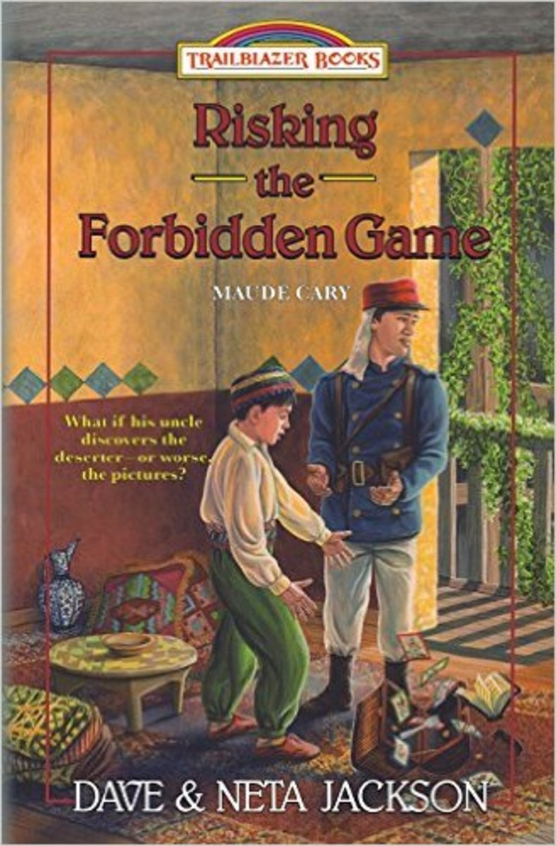 Risking the Forbidden Game: Maude Cary (Trailblazer Books) by Dave Jackson and Neta Jackson