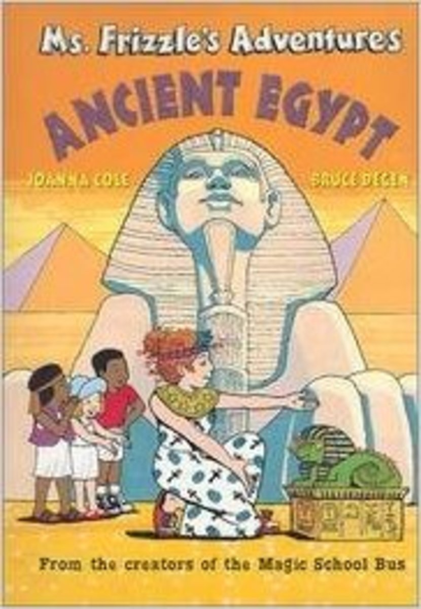 Ms. Frizzle's Adventures: Ancient Egypt by Joanna Cole