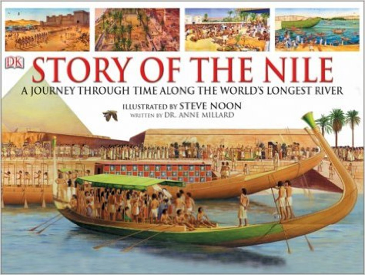 The Story of the Nile by Anne Millard