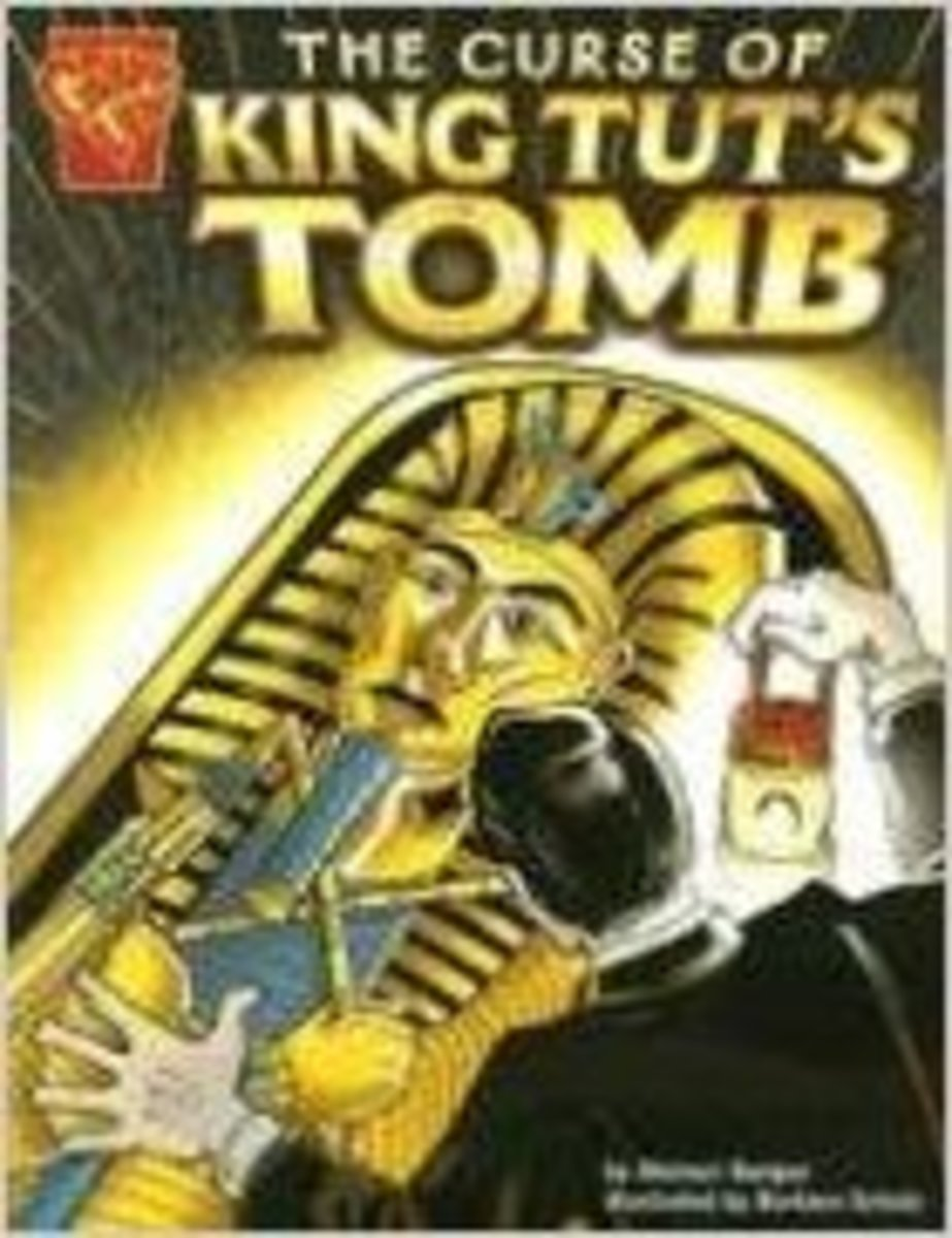The Curse of King Tut's Tomb (Graphic History) by Michael Burgan